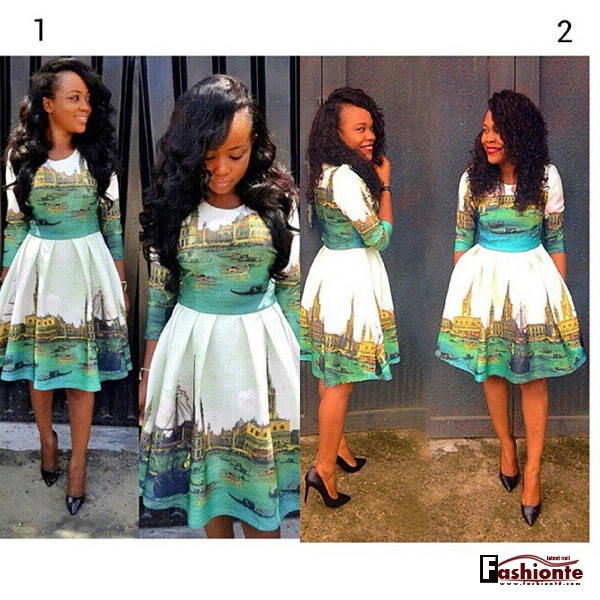 Nigerian lace skirt and blouse ankara styles 2016 2017 fashionte
