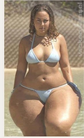 white women with extremely wide hips