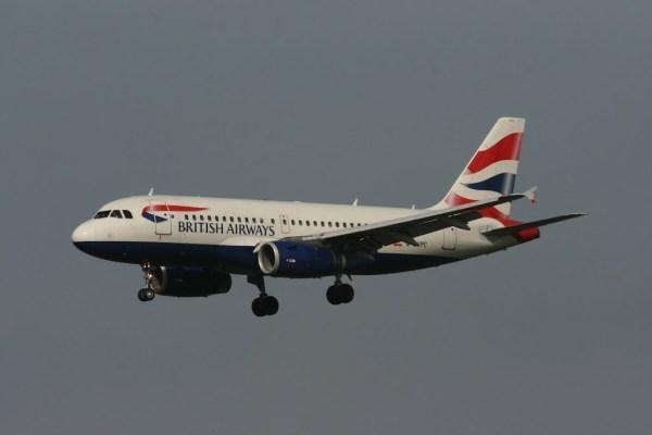 Und ein A320 von British Airways