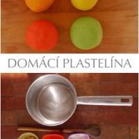 DOMÁCÍ PLASTELÍNA - recept pro extra jasné barvy