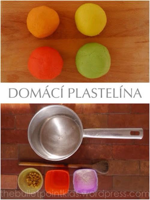 Recept na domácí plastelínu