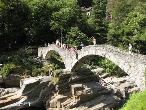 Ponte dei Salti, Verzasca Valley, Ticino