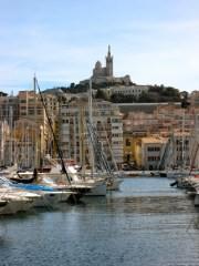 Notre Dame de la Garde from the Vieux Port