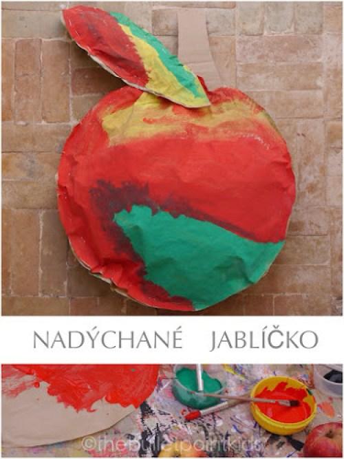 Jablko tvoření pro děti