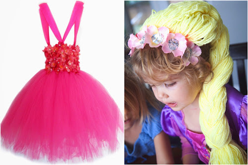 Šaty pro princeznu vyrobené doma