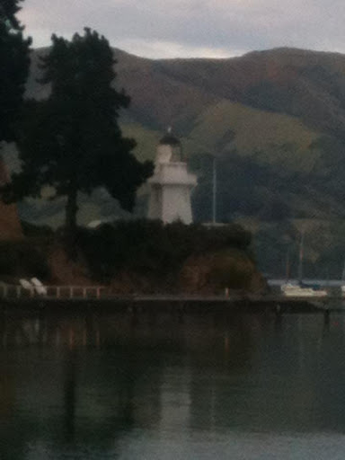 Akaroa lighthouse on the Banks Peninsula
