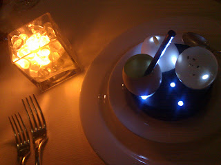 Glowing food at Citronelle.