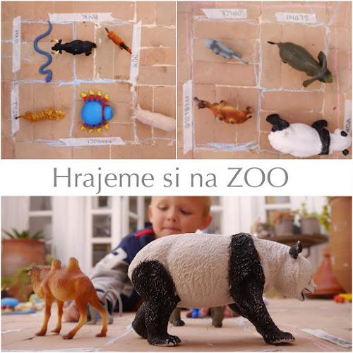 Zábava pro děti - hra na zoo