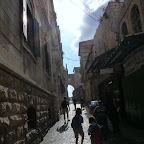 Morning sun and deliveries in Jerusalem