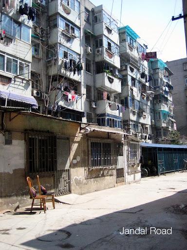 A block of flats in Nanjing
