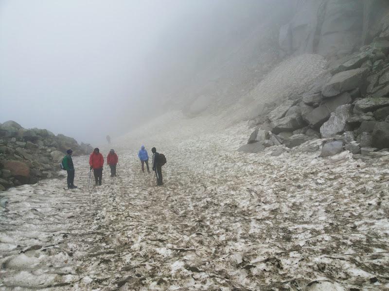 Final ascent to Hampta pass