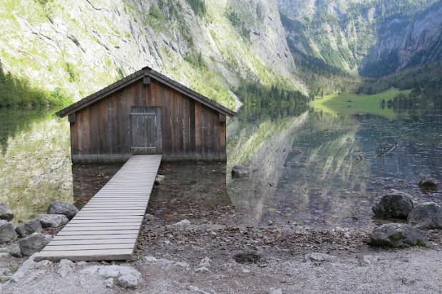 Interessante Spiegelungen im Obersee