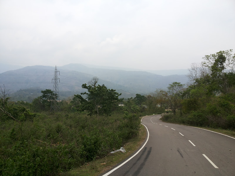 The east-west corridor just out of Silchar