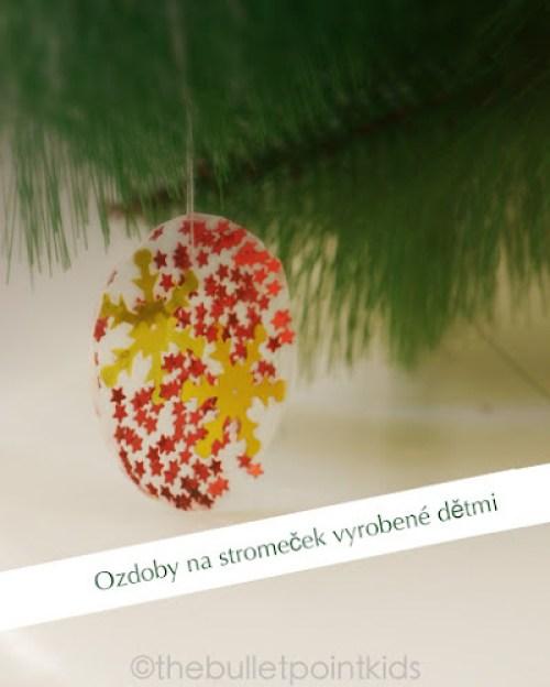 Vánoční ozdoby tvoření s dětmi