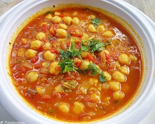 Moroccan Chickpea Soup Recipe   Hasa Al Hummus   Healthy Soups