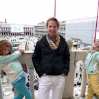 Posing over San Marco square