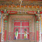 Lakhang Door, Daocheng, Sichuan.