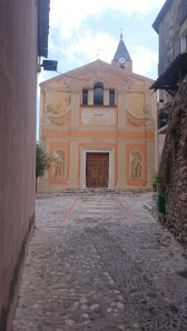 Gorbio church