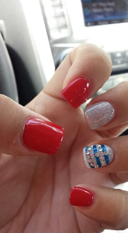 Nail Designs For Short Bitten Nails Images Free Download Short