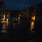 North view from Rialto Bridge, Venice.