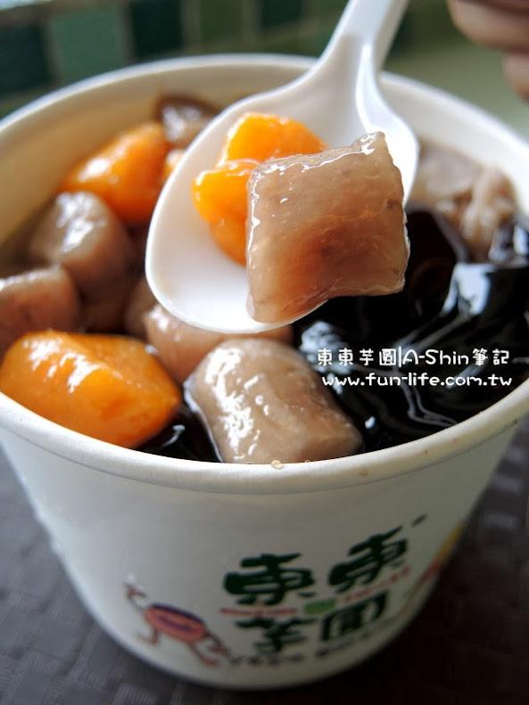 番薯味獲勝~東東芋圓