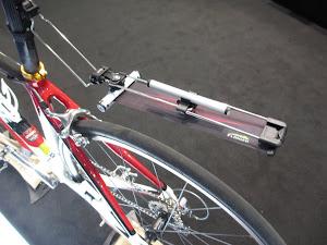 Retractable roadbike mudguard - Genius!
