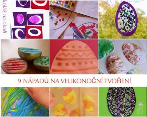 Velikonoční tvoření pro malé děti