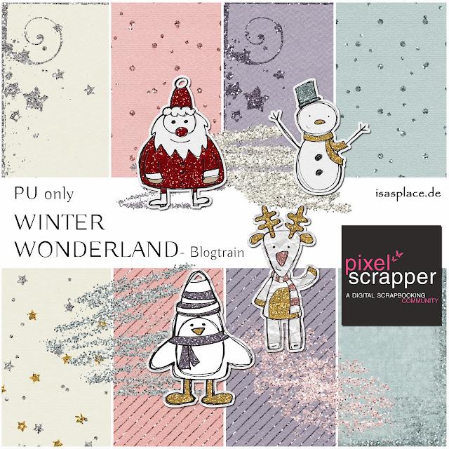 Blog Train Winter Wonderland