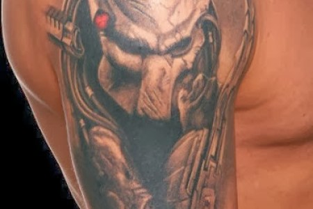 uk07999 predator movie tattoo tattoos ideas