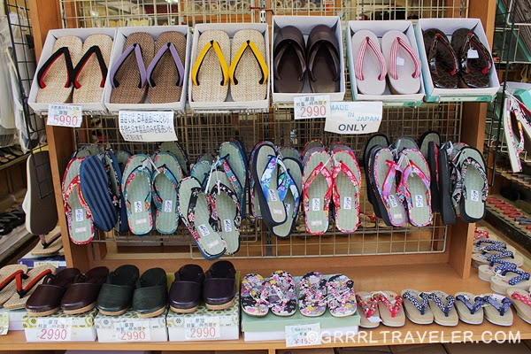japanese slippers, traditional japanese clothes