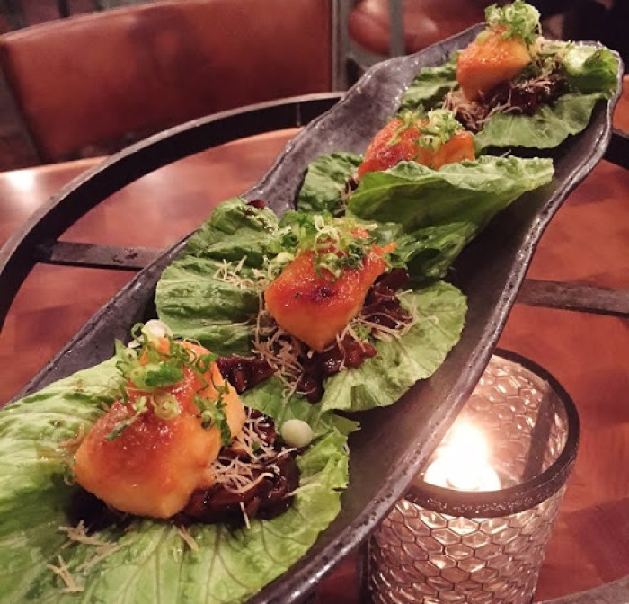 Catch Black Cod Lettuce Wraps