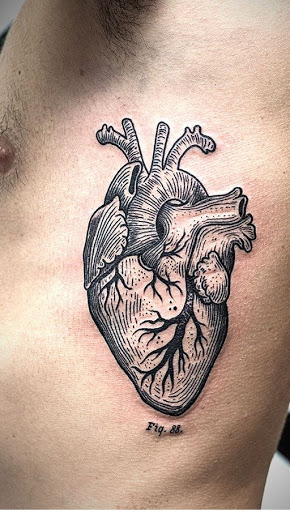 50 best heart tattoos and designs for men and women. Black Bedroom Furniture Sets. Home Design Ideas