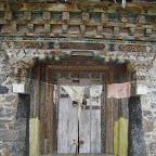 Prayer wheel house, Yaza village, Daocheng county, Sichuan.
