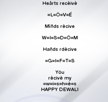 Diwali Text Wallpapers