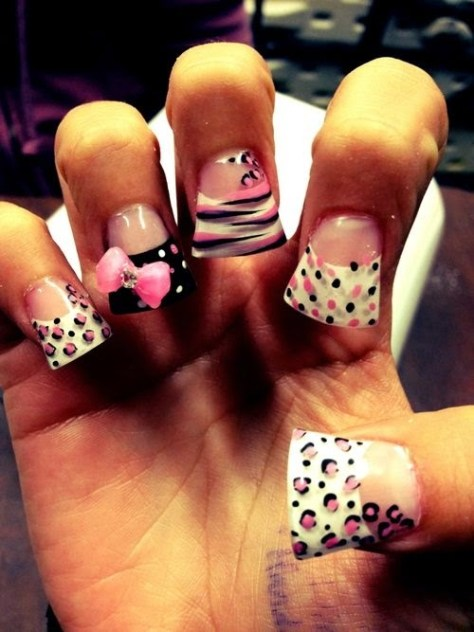cool nail design pretty women