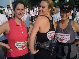 The PinkforTink raceteam!