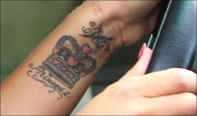 katie price tattoos