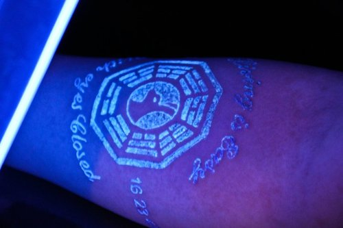black light ink tattoos