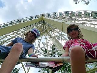Lookin up the Ferris Wheel