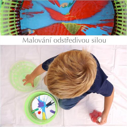 Malování s dětma