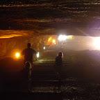 The erie exit from Zedikiah's cave, Jerusalem.