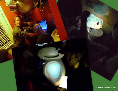 The glowstick toilet!