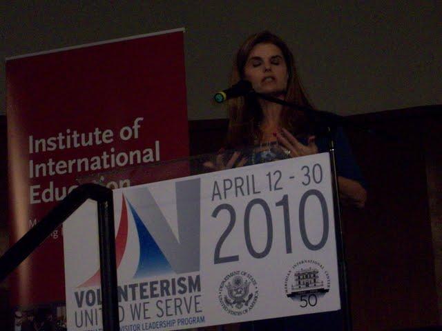 IVLP 2010 - Meeting with California First Lady - Mrs Schazeneger - 100_1458.JPG