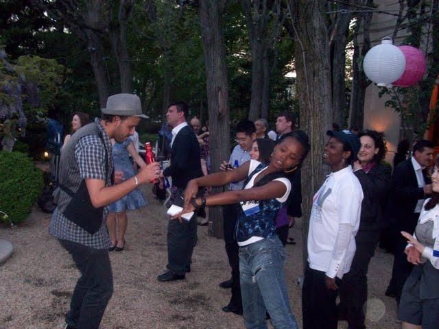 IVLP 2010 - Hands-on Work, Crazy Dancing - 100_0530.JPG