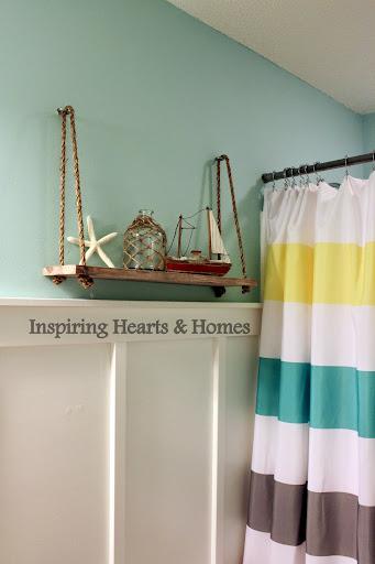 swing shelf, nautical, swing shelf pottery barn kids