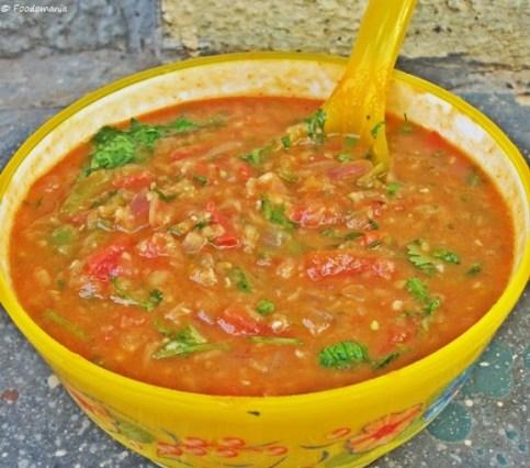 mexican red lentil soup