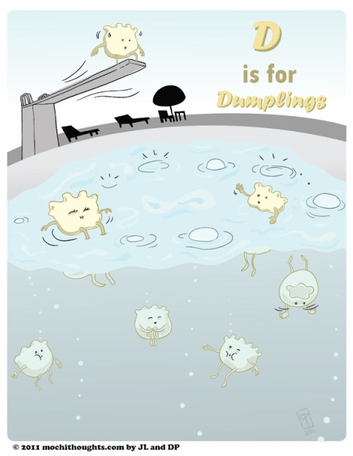 Cute Webcomic Alphabet series