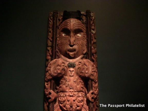 Maori artefact, Te Papa Museum, Wellington