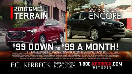 FC Kerbeck   Sons   Google  Buick GMC Dealer Featuring  99 Lease Payments