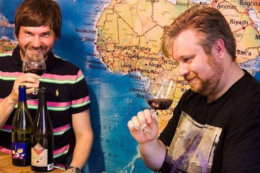 Brødrene Bækgaard tester naturvin  - Mikkel Bækgaards Madblog